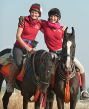 BHS Challenge Riders in India