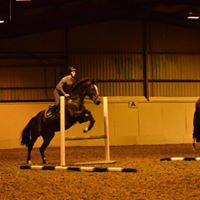 Horse Jumping at Ken Spencer Clinic
