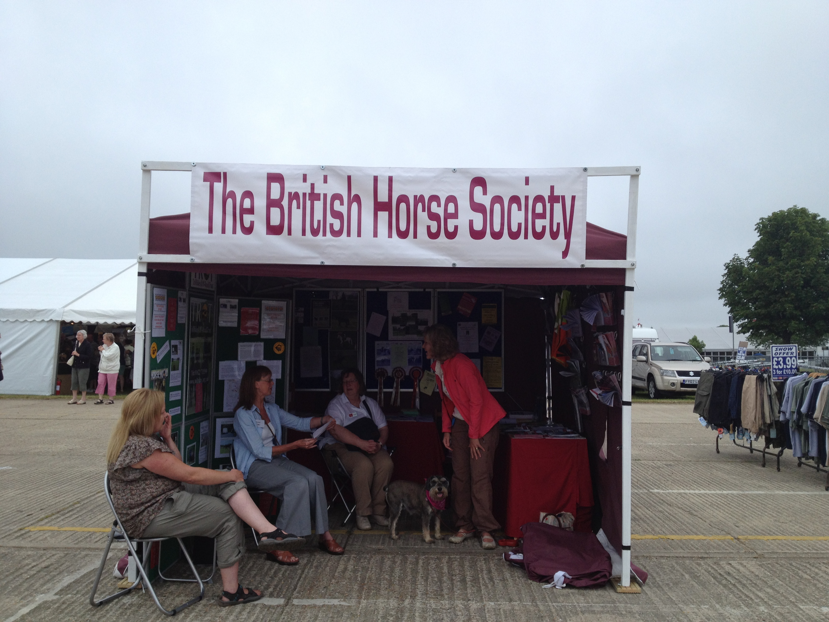 BHS Stand at Kent County Show