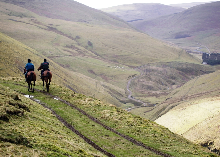 Riding in the Cheviots