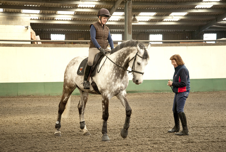 Pammy teaches Chloe Walker during the daytime clinic
