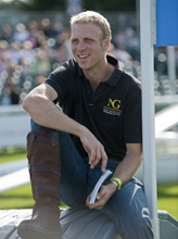 Nick Gauntlett at Burghley