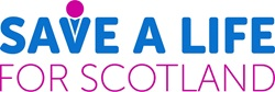 save a life for scotland logo