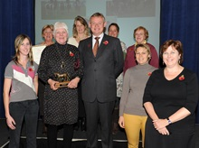 Mid Somerset RC at BHS Awards 2012