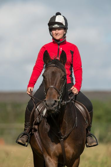 Anna-Marie Wilby and her horse, Holly