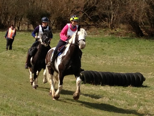 Riders enjoying Widmere Farm pleasure ride