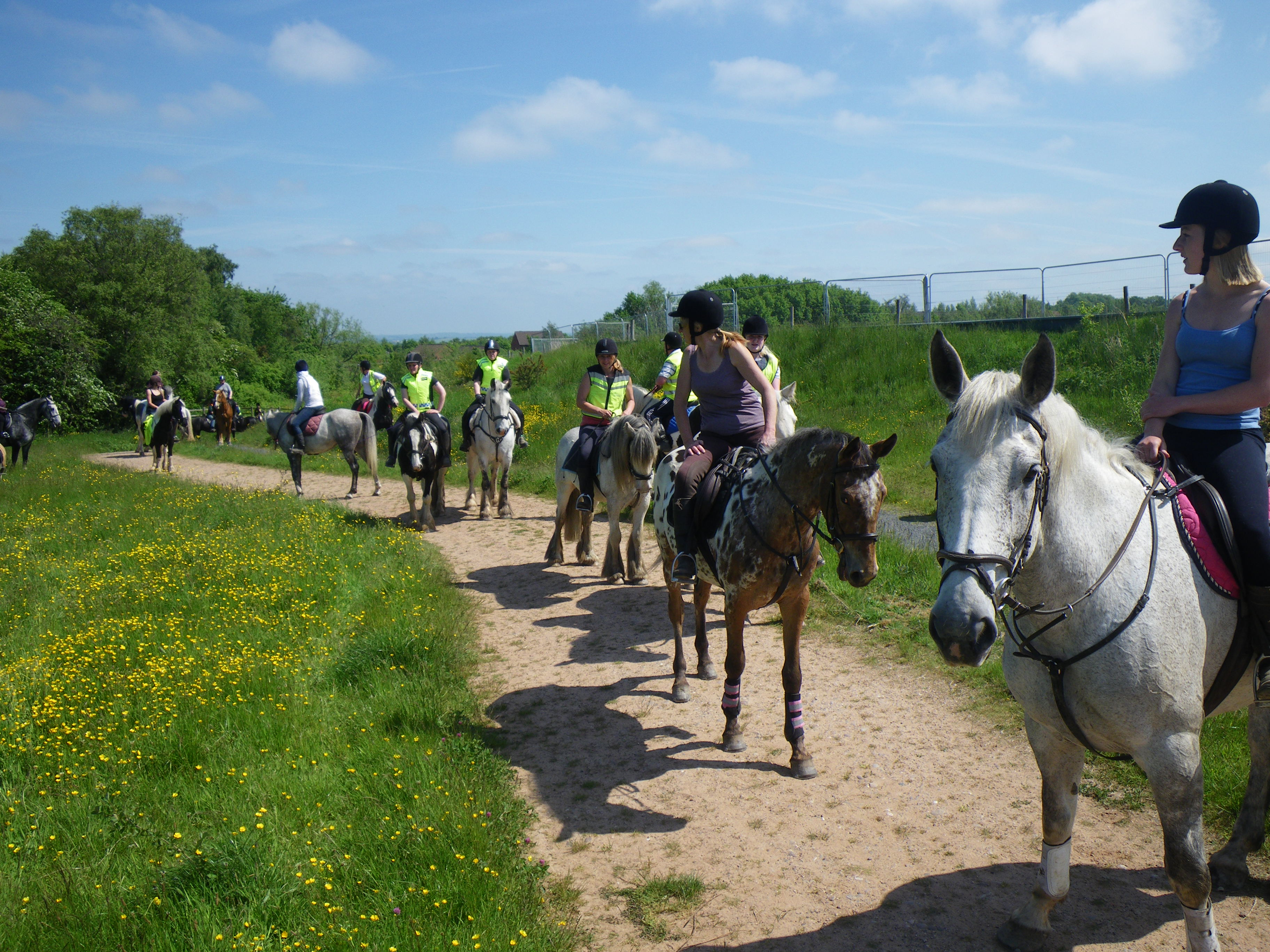 Telford Bridleways Ride 2013