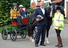 Martin Clunes at the launch of the Paralympic Legacy Access Project