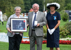 Image for Dr Peter Whitehead honoured with The BHS Queens Award for Equestrianism