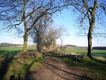 Bag Enderby, Lincolnshire. Image reproduced with permission from www.lincolnshirewolds.info