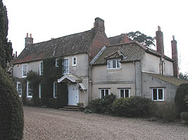 Birthplace of Lord Alfred Tennyson. Image reproduced with permission from www.lincolnshirewolds.info