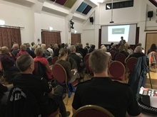 BHS Kent Safety evening crowd listening to speaker
