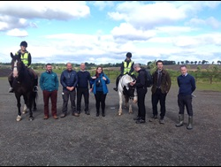 A9 engineers meet horses