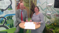 Image for New partnership between Natural Resources Wales set to benefit local Equestrians