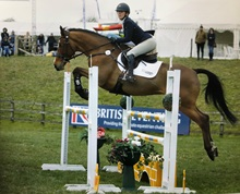 Jessica Campbell Jumping